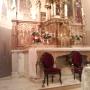 Actuaciones en bienes muebles: Retablo en Garralda