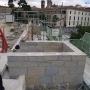 Restauración de las murallas del jardín del Palacio Real de Pamplona